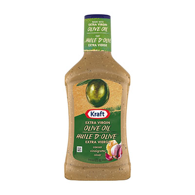 KRAFT  DRESSING CAESAR VINAIGRETTE WITH EXTRA VIRGIN OLIVE OIL