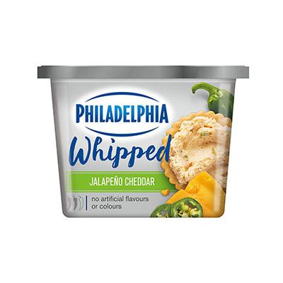 Philadelphia Whipped BOLD Jalapeno Cheddar 227g
