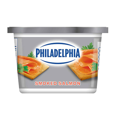 PHILADELPHIA SOFT SMOKED SALMON 340G