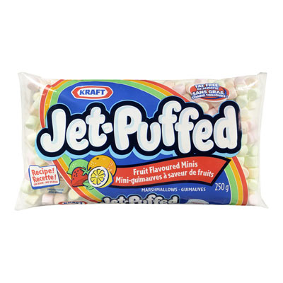 KRAFT Jet Puffed Guimauves mini colorées