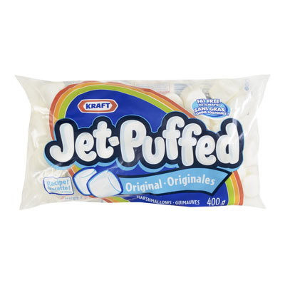 KRAFT Jet Puffed Guimauves blanches