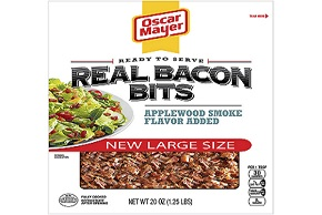 Oscar Mayer Applewood Smoke Bacon Bits 20 Oz