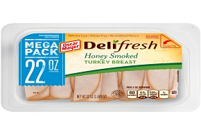 Oscar Mayer Deli Fresh Honey Smoked Turkey 22Oz