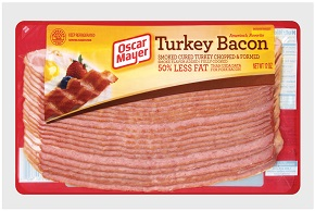 Oscar Mayer Turkey Bacon 12Oz Pack