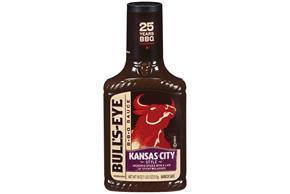 Bull's-Eye Kansas City Style Barbecue Sauce 18 oz. Bottle