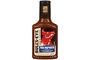 Bull's-Eye Memphis Style Barbecue Sauce 18 oz. Bottle