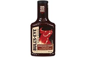 Bull's-Eye Brown Sugar & Hickory Barbecue Sauce 18 oz. Bottle