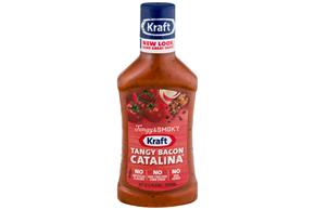 KRAFT Tangy Catalina with Bacon Dressing 16 oz Bottle