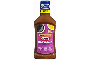 KRAFT Balsamic Vinaigrette Light Dressing 16 oz Bottle