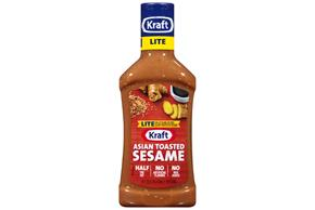 KRAFT Asian Sesame Light Dressing 16 oz Bottle