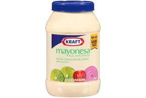 KRAFT Real Mayonesa with Lime