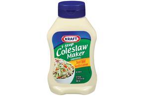 Kraft Salad Dressing 1-Step Coleslaw Maker Dressing 22 Oz Squeeze Bottle