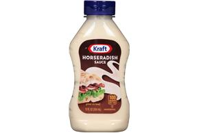 Kraft Horseradish Sauce 12 fl. oz. Bottle