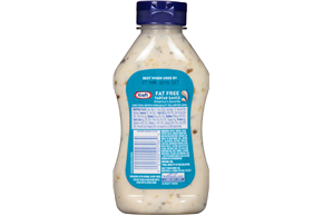 Kraft Specialty Sauces Fat Free Tartar Sauce 12 Fl Oz Squeeze Bottle