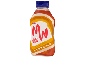 Kraft Miracle Whip Sweet Dijon Burger Sauce 12 fl. oz. Bottle