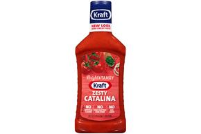 KRAFT Zesty Catalina Dressing 16 oz Bottle