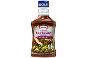 KRAFT Sweet Balsamic Vinaigrette Dressing 8 oz Bottle