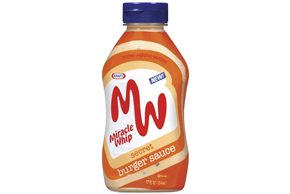 Kraft Miracle Whip Secret Burger Sauce 12 Oz Squeeze Bottle