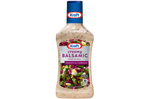 KRAFT Creamy Balsamic 16 oz Bottle