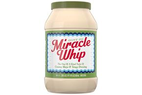 KRAFT MIRACLE WHIP Dressing with Olive Oil 30 fl. oz. Jar