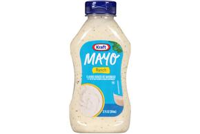 KRAFT Mayo Ranch Flavor Reduced Fat Mayonnaise
