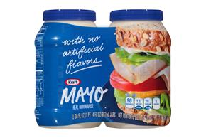Kraft Mayo Real Mayonnaise 2-30 fl. oz. Jars