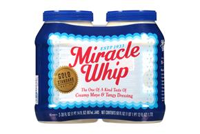 KRAFT MIRACLE WHIP Dressing Original 2 pack - 30 fl. oz. Jars