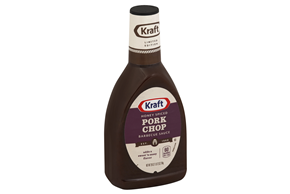 KRAFT Honey Spiced Pork Chop Barbecue Sauce