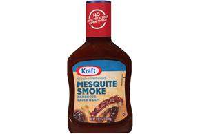 Kraft Mesquite Smoke Barbecue Sauce 18 oz. Bottle