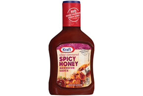 Kraft Spicy Honey Barbecue Sauce 18 oz. Bottle