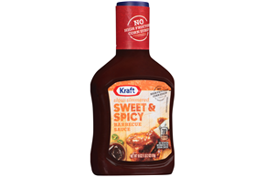 Kraft Sweet & Spicy Barbecue Sauce 18 oz. Bottle