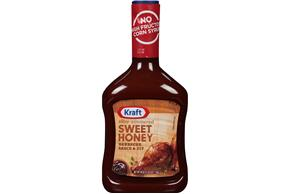 Kraft Sweet Honey Barbecue Sauce 40 oz. Bottle