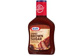 Kraft Sweet Brown Sugar Barbecue Sauce 18 oz. Bottle