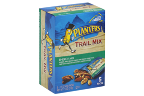 PLANTERS Trail Mix Energy Mix 5-7.5 oz Packs