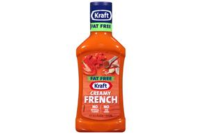 KRAFT French Fat Free Dressing 16 oz Bottle