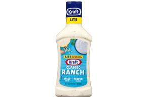 KRAFT Ranch Light Dressing 16 oz Bottle