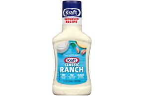 KRAFT  Ranch Classic Dressing 8 oz Bottle