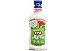 KRAFT Creamy Italian Dressing 16 oz Bottle