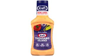 KRAFT Thousand Island Dressing 8 oz Bottle