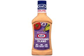 KRAFT Thousand Island Dressing 16 oz Bottle