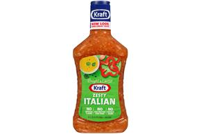 KRAFT Zesty Italian Dressing 24 oz Bottle