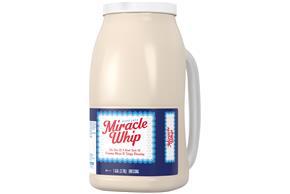 KRAFT MIRACLE WHIP Dressing Original 1 gal. Jug - Kraft ...