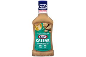 KRAFT Caesar Parmesan Vinaigrette Dressing 16 oz Bottle