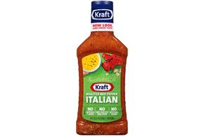 KRAFT Roasted Red Italian Pepper 16 oz Bottle