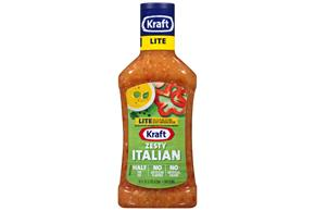 KRAFT Zesty Italian Light Dressing 16 oz Bottle