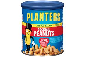 PLANTERS® Lightly Salted Cocktail Peanuts with Pure Sea Salt 16 oz
