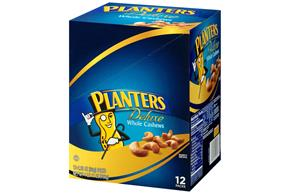 Planters Deluxe Whole Cashews 12-2.25 oz. Packs