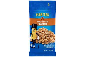 PLANTERS® Honey Roasted Peanuts 6 oz