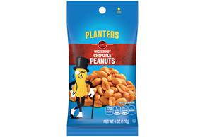 PLANTERS® Wicked Hot Chipotle Peanuts 6 oz