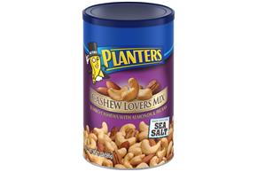 PLANTERS Cashew Lovers Mix Made With Real Sea Salt 21 oz